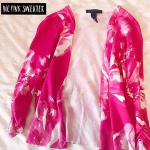 INC Pink Sweater